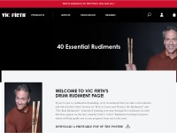 https://vicfirth.zildjian.com/education/40-essential-rudiments.html