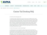 https://www.avma.org/KB/Resources/FAQs/Pages/Frequently-asked-questions-about-canine-tail-docking.aspx