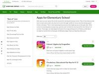 https://www.commonsensemedia.org/lists/apps-for-elementary-school