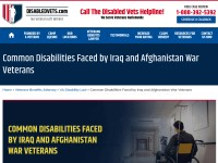 https://www.disabledvets.com/common-disabilities-faced-by-iraq-and-afghanistan-war-veterans/