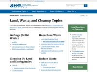 https://www.epa.gov/science-and-technology/land-waste-and-cleanup-science