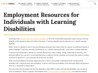 https://www.fiscaltiger.com/employment-resources-for-individuals-with-learning-disabilities/