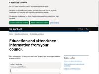 https://www.gov.uk/education-attendance-council