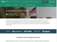 https://www.jobhero.com/resources/veteran-career-guide/
