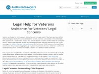 https://www.justgreatlawyers.com/legal-advice-for-veterans