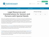 https://www.justgreatlawyers.com/legal-resources-considerations-seniors-special-needs