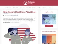 https://www.mattressclarity.com/blog/what-veterans-should-know-about-sleep/