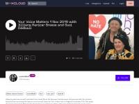 https://www.mixcloud.com/susioddball/your-voice-matters-1-nov-2019-with-jilliana-ranicar-breese-and-susi-oddball/