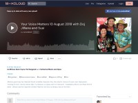 https://www.mixcloud.com/susioddball/your-voice-matters-10-august-2018-with-doj-jilliana-and-susi/