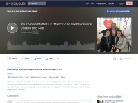 https://www.mixcloud.com/susioddball/your-voice-matters-12-march-2020-with-roxanne-susi-and-jilliana/