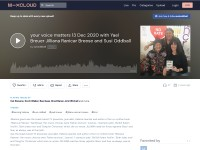 https://www.mixcloud.com/susioddball/your-voice-matters-13-dec-2020-with-yael-breuer-jilliana-ranicar-breese-and-susi-oddball/