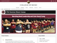 https://www.music.fsu.edu/summermusiccamps/Marching-Band-Leadership-Camp-Color-Guard-Camp