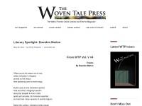 https://www.thewoventalepress.net/2017/05/20/literary-spotlight-brandon-marlon/